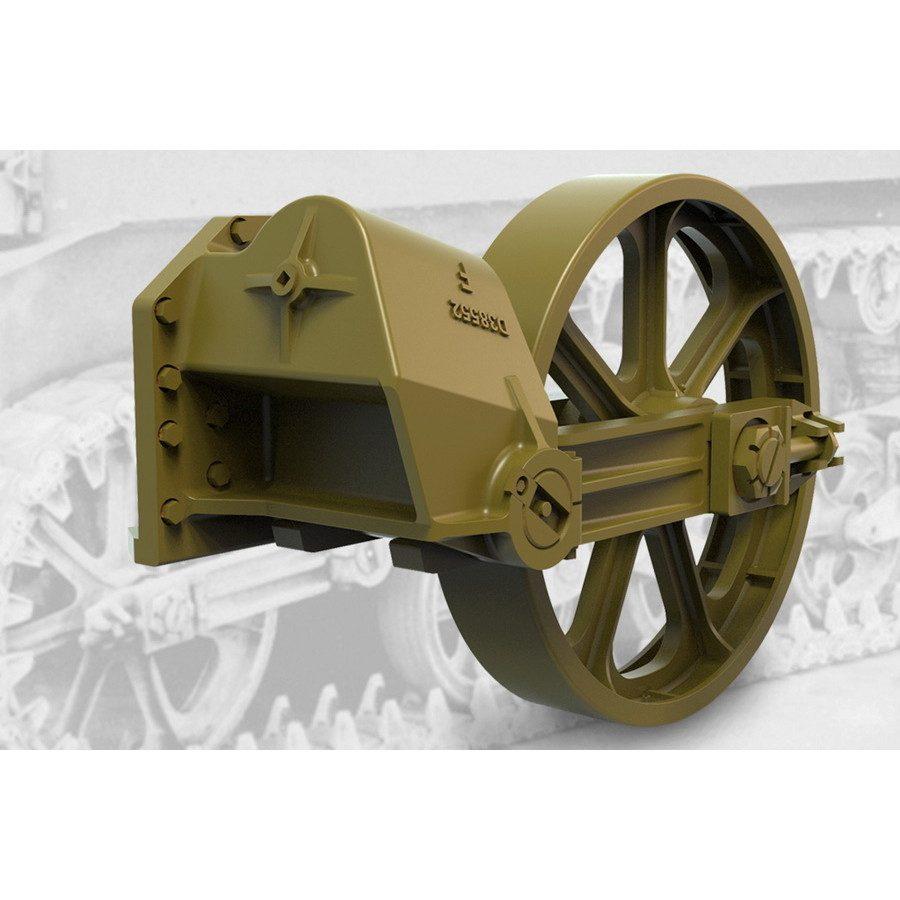 【新製品】FM35008 M3軽戦車初期型用誘導輪&サスペンションセット