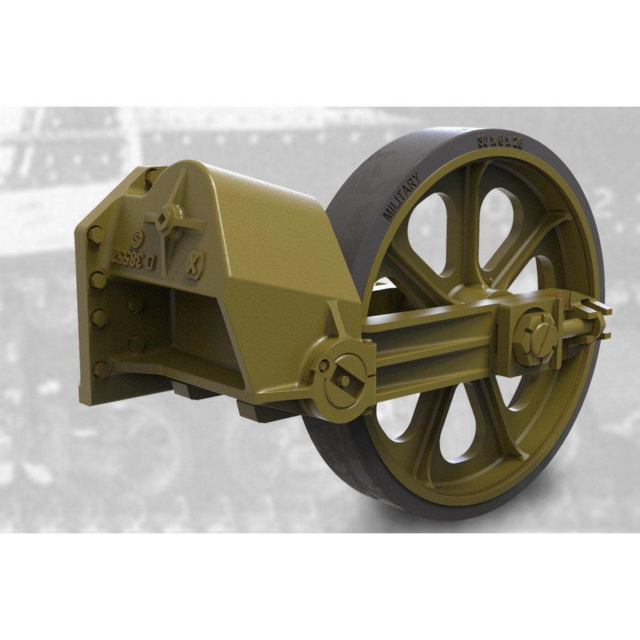 【新製品】FM35009 M3/M3A1/M3A3軽戦車ゴム付誘導輪&サスペンションセット(後期型)