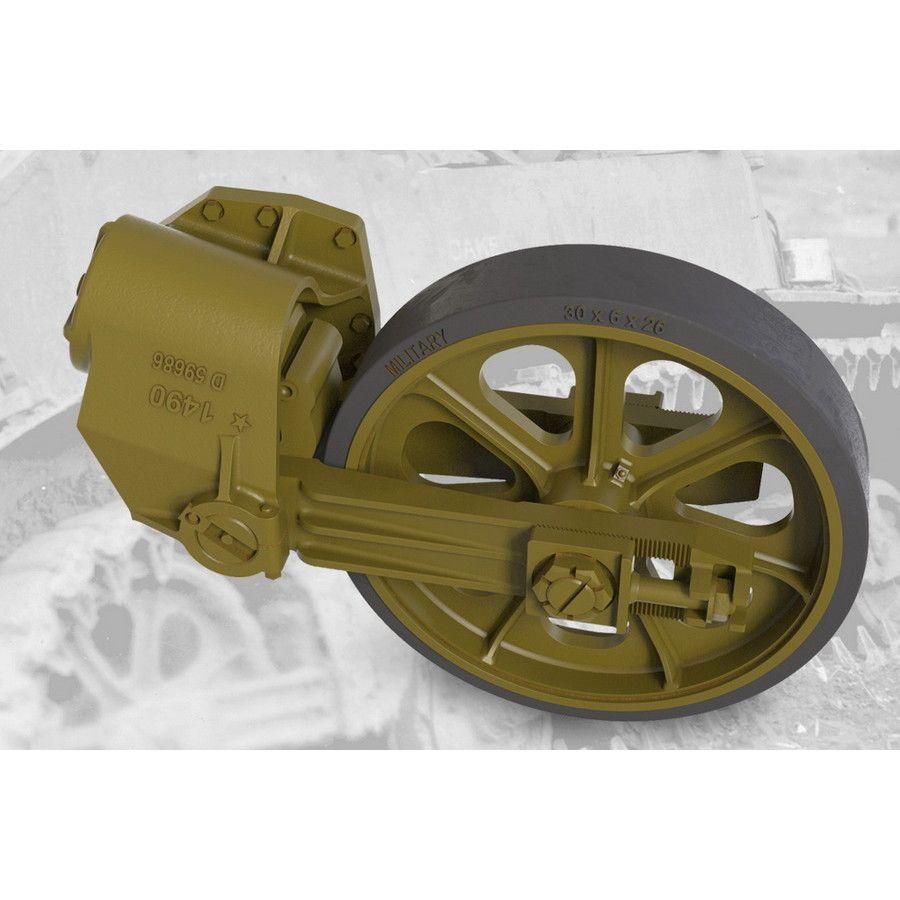 【新製品】FM35010 M5/M5A1軽戦車/M8自走砲用誘導輪&サスペンションセット