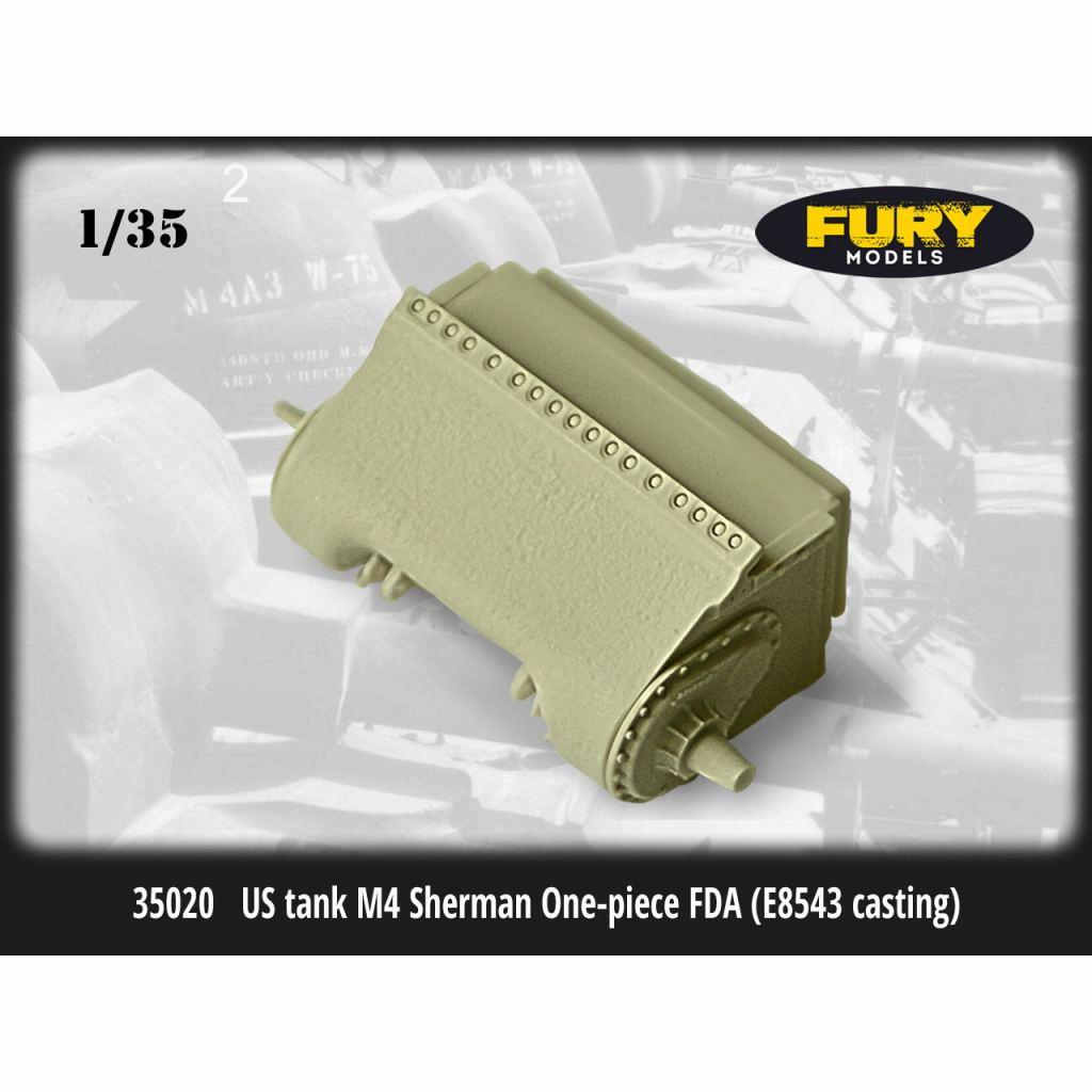 【新製品】FM35020 M4シャーマン戦車用ワンピースデファレンシャルカバー(鋳造型 E8543)
