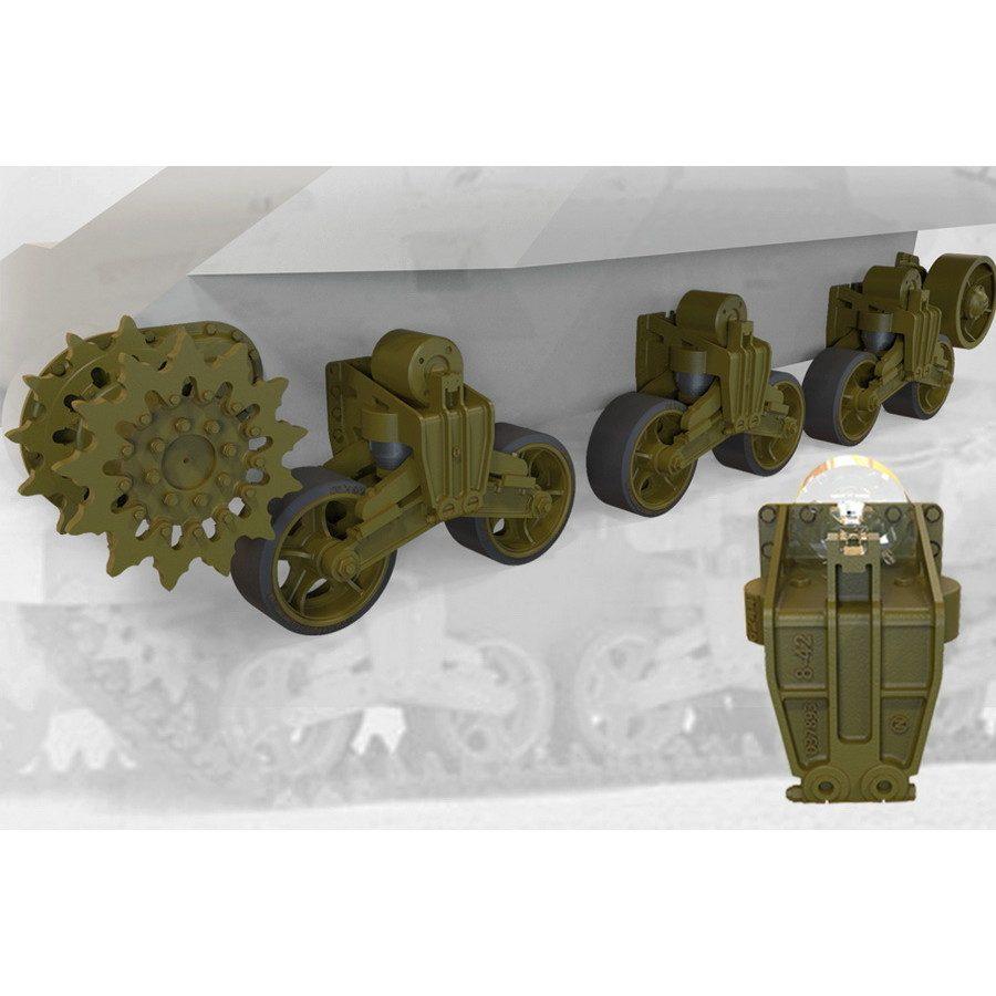 【新製品】FM35037 M3リー/グラント戦車用サスペンションセット