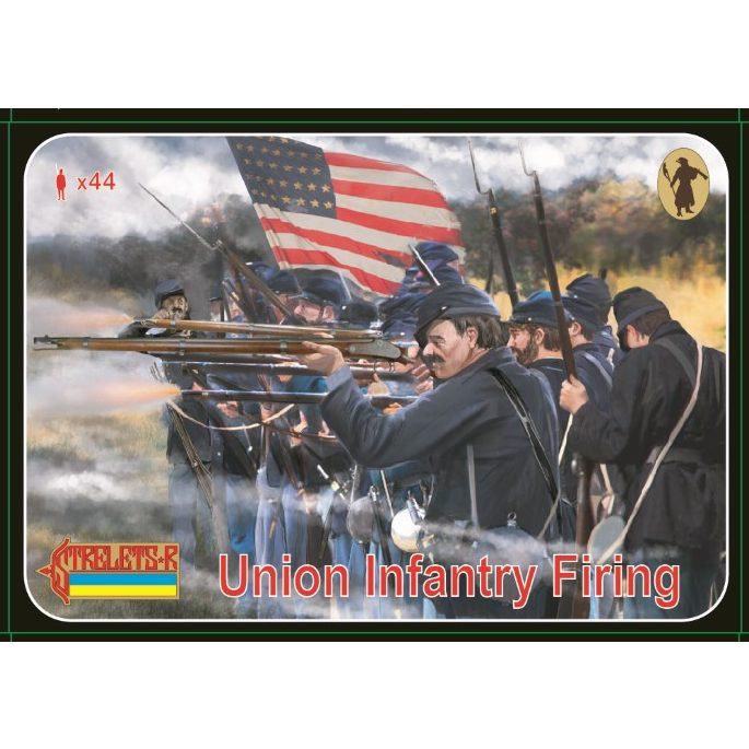 【新製品】159 南北戦争 北軍歩兵 射撃