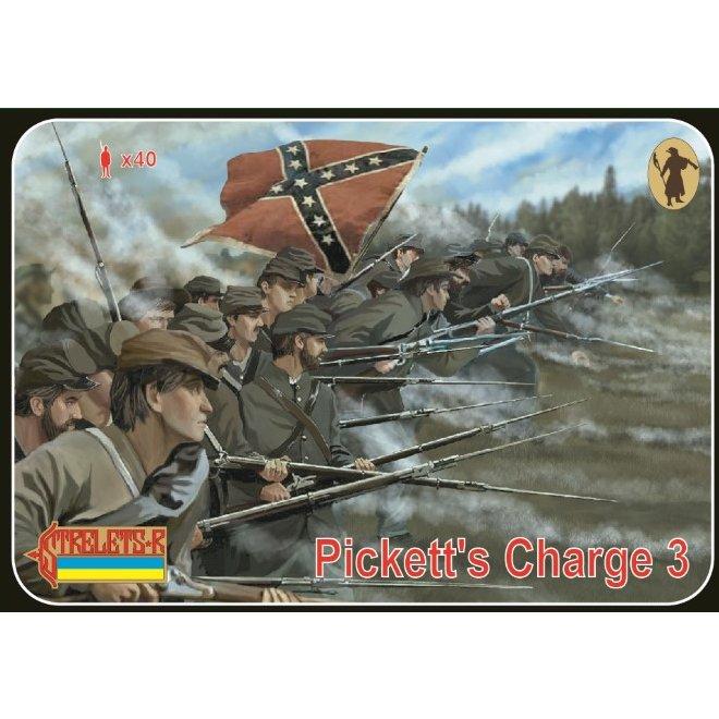 【新製品】178 南北戦争 ゲティスバーグの戦い 南軍 ピケットの突撃 3