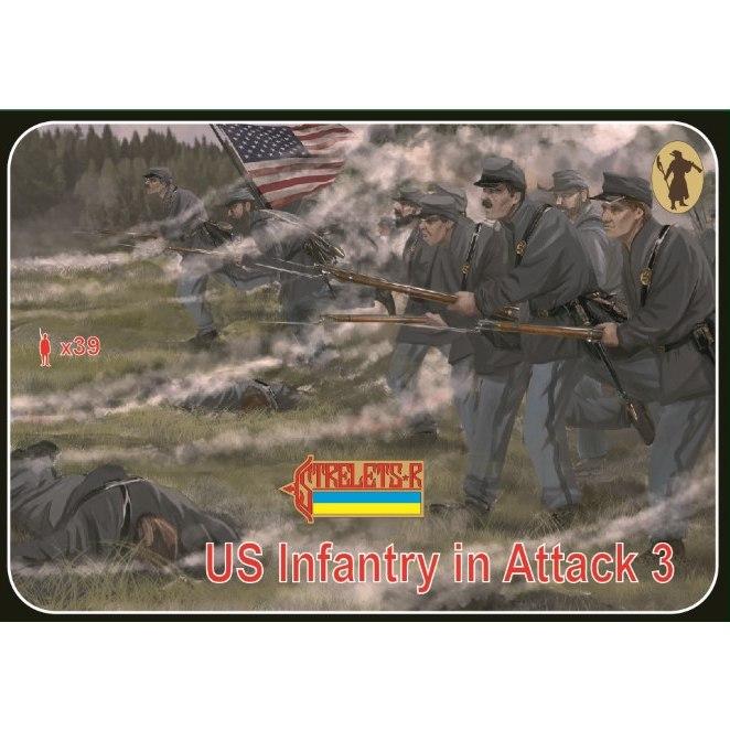 【新製品】179 南北戦争 北軍兵 攻撃 3