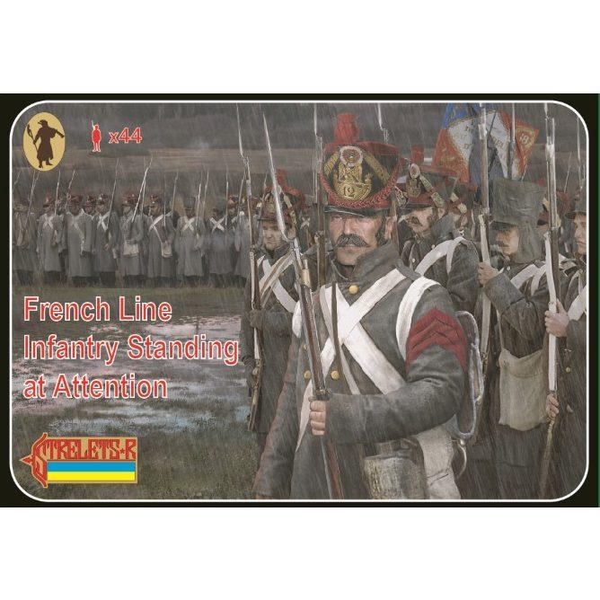 【新製品】184 ナポレオン戦争 フランス戦列歩兵 気を付け