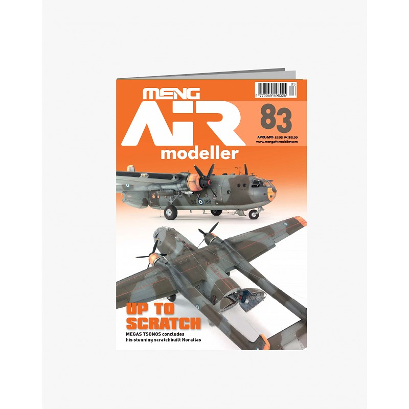 【新製品】AIR modeller 83 UP TO SCRATCH