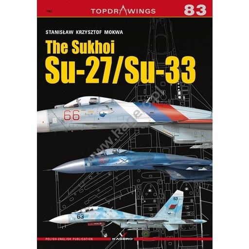 【新製品】TOPDRAWINGS 7083 スホーイ Su-27/Su-33 フランカー