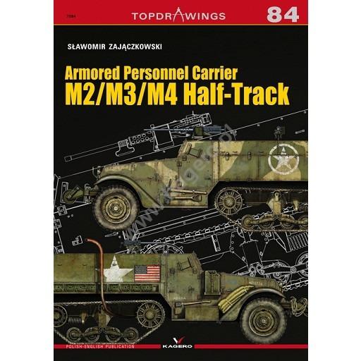 【新製品】TOPDRAWINGS 7084 アメリカ M2/M3/M4 ハーフトラック