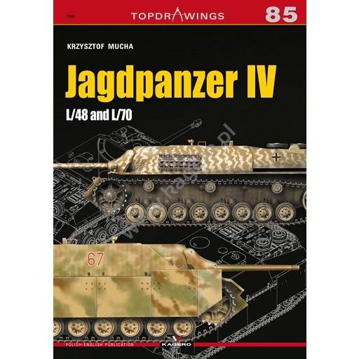 【新製品】TOPDRAWINGS 7085 IV号駆逐戦車 L/48 & L/70