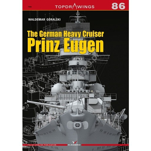 【新製品】TOPDRAWINGS 7086 ドイツ海軍 重巡洋艦 プリンツ・オイゲン