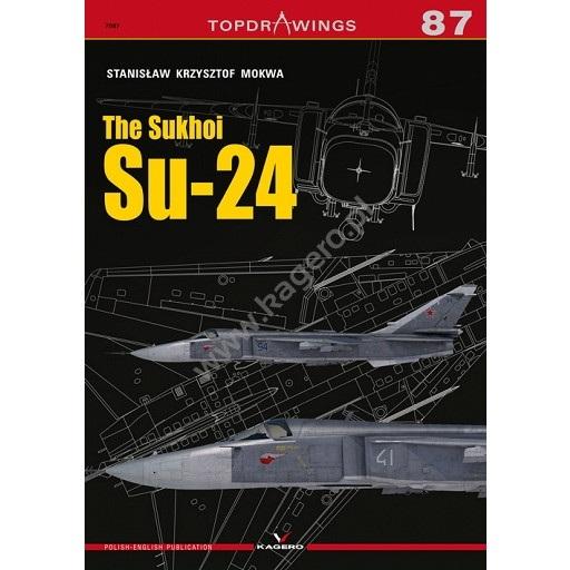 【新製品】TOPDRAWINGS 7087 スホーイ Su-24 フェンサー