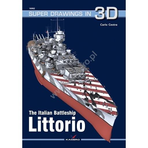 【新製品】SUPER DRAWINGS IN 3D 16062 イタリア海軍 戦艦 リットリオ