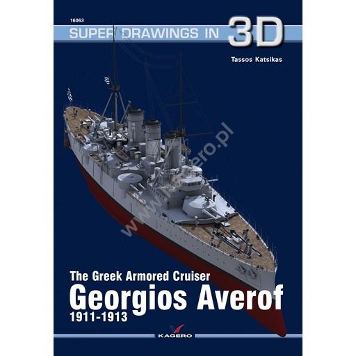 【新製品】SUPER DRAWINGS IN 3D 16063 ギリシャ海軍 装甲巡洋艦 イェロギオフ・アヴェロフ