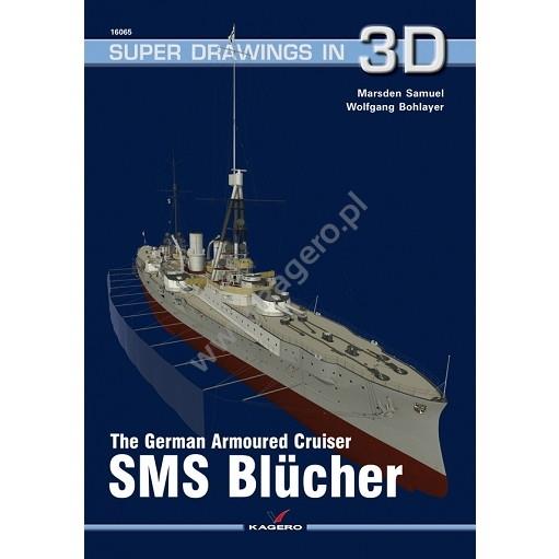【新製品】SUPER DRAWINGS IN 3D 16065 独海軍 装甲巡洋艦 ブリュッヒャー