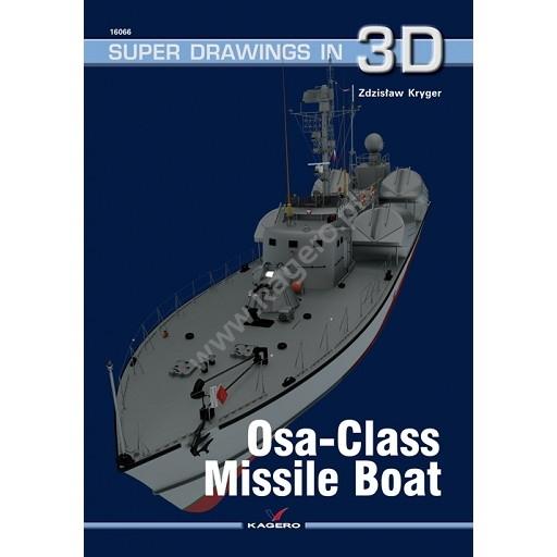 【新製品】SUPER DRAWINGS IN 3D 16066 ソ連海軍 オーサ型ミサイル艇