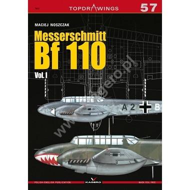 【新製品】TOPDRAWINGS 7057 メッサーシュミット Bf110 Vol.I