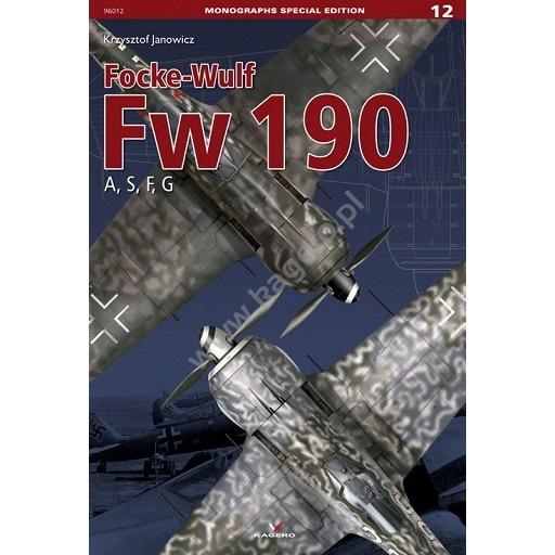 【新製品】MONOGRAPHS SPECIAL EDITION 96012 フォッケウルフ Fw190A/S/F/G