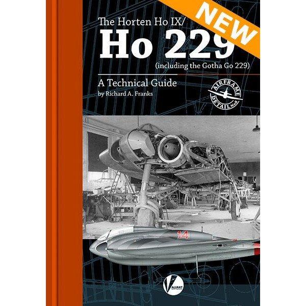 【新製品】エアフレームディテール No.8 ホルテン Ho IX/ゴータ Go 229 テクニカルガイド