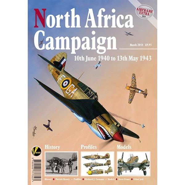 【再入荷】エアフレームエクストラ No.9 北アフリカ 1940-1943