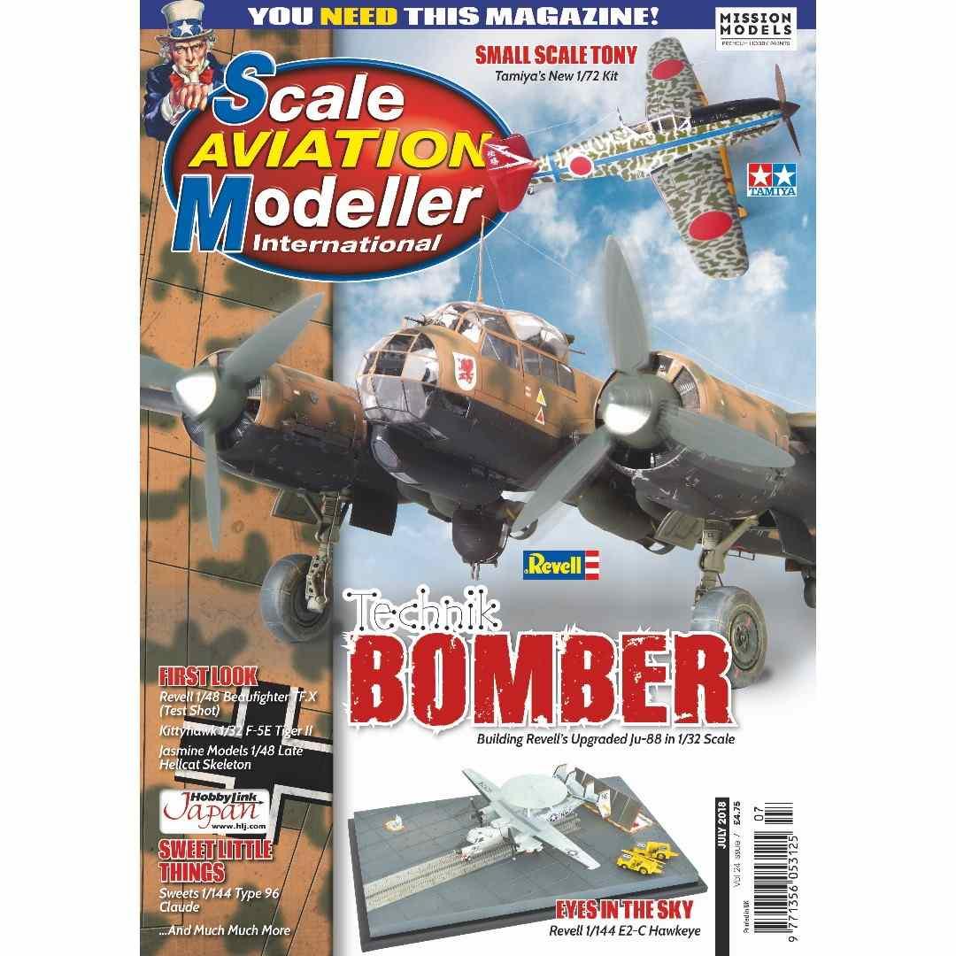 【新製品】スケールアヴィエーションモデラー Vol.24-07 Technik BOMBER