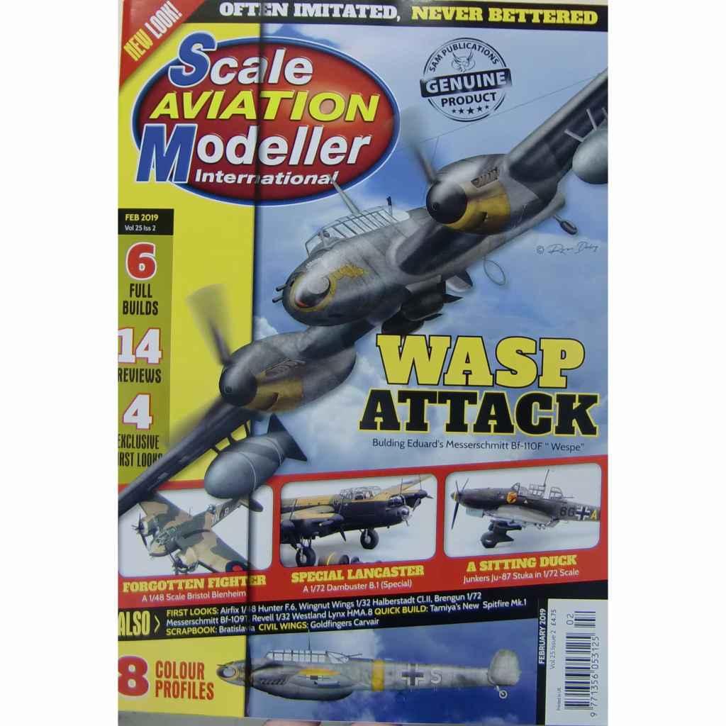 【新製品】スケールアヴィエーションモデラー Vol.25-02 WASP ATTACK