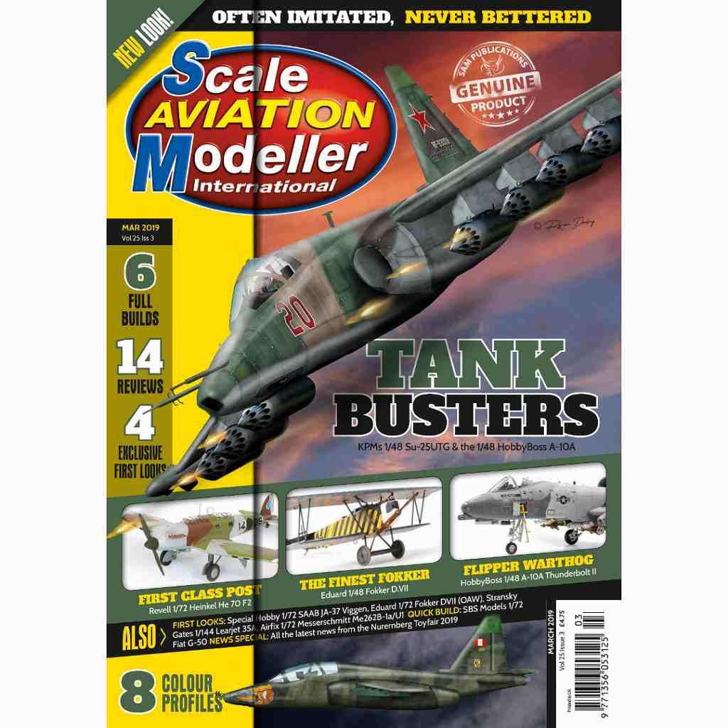 【新製品】スケールアヴィエーションモデラー Vol.25-03 TANK BUSTERS