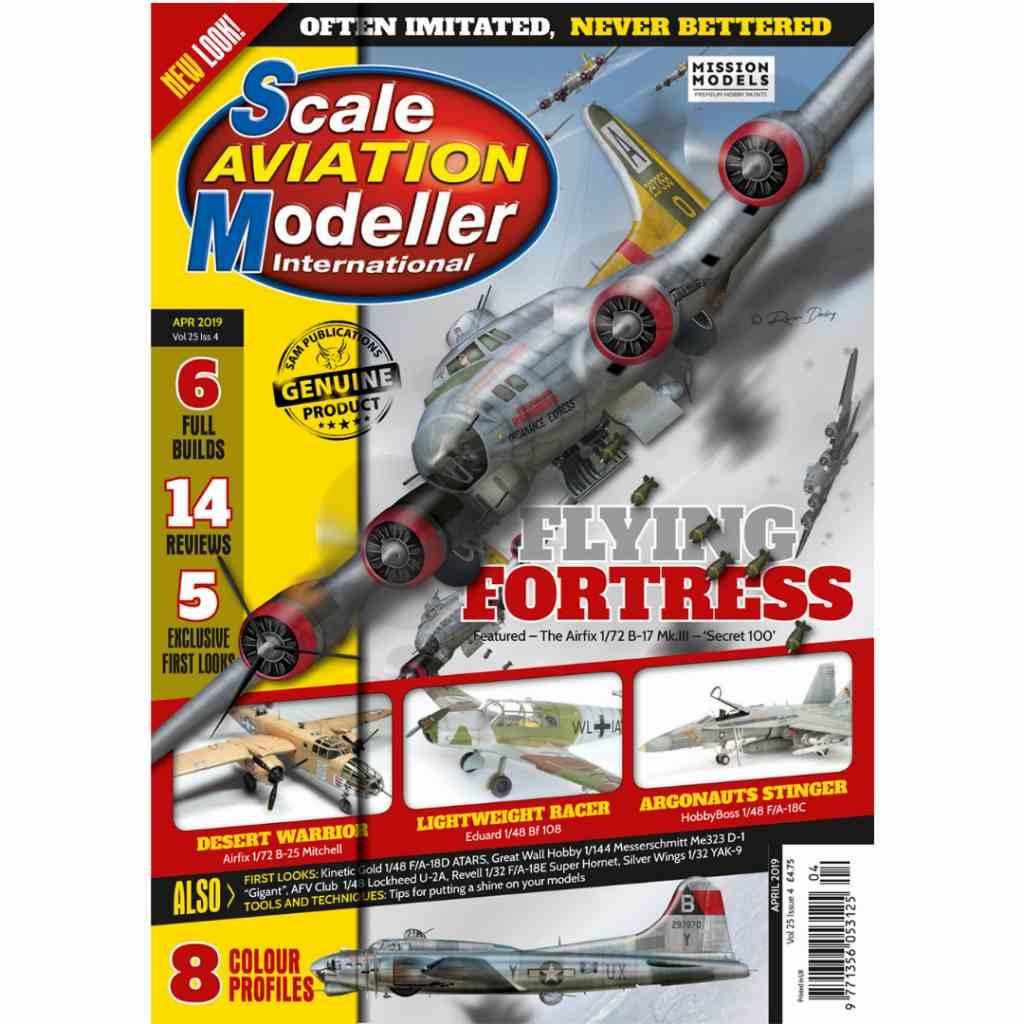 【新製品】スケールアヴィエーションモデラー Vol.25-04 FLYING FORTRESS