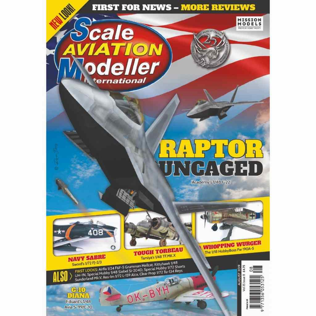 【新製品】スケールアヴィエーションモデラー Vol.25-08 RAPTOR