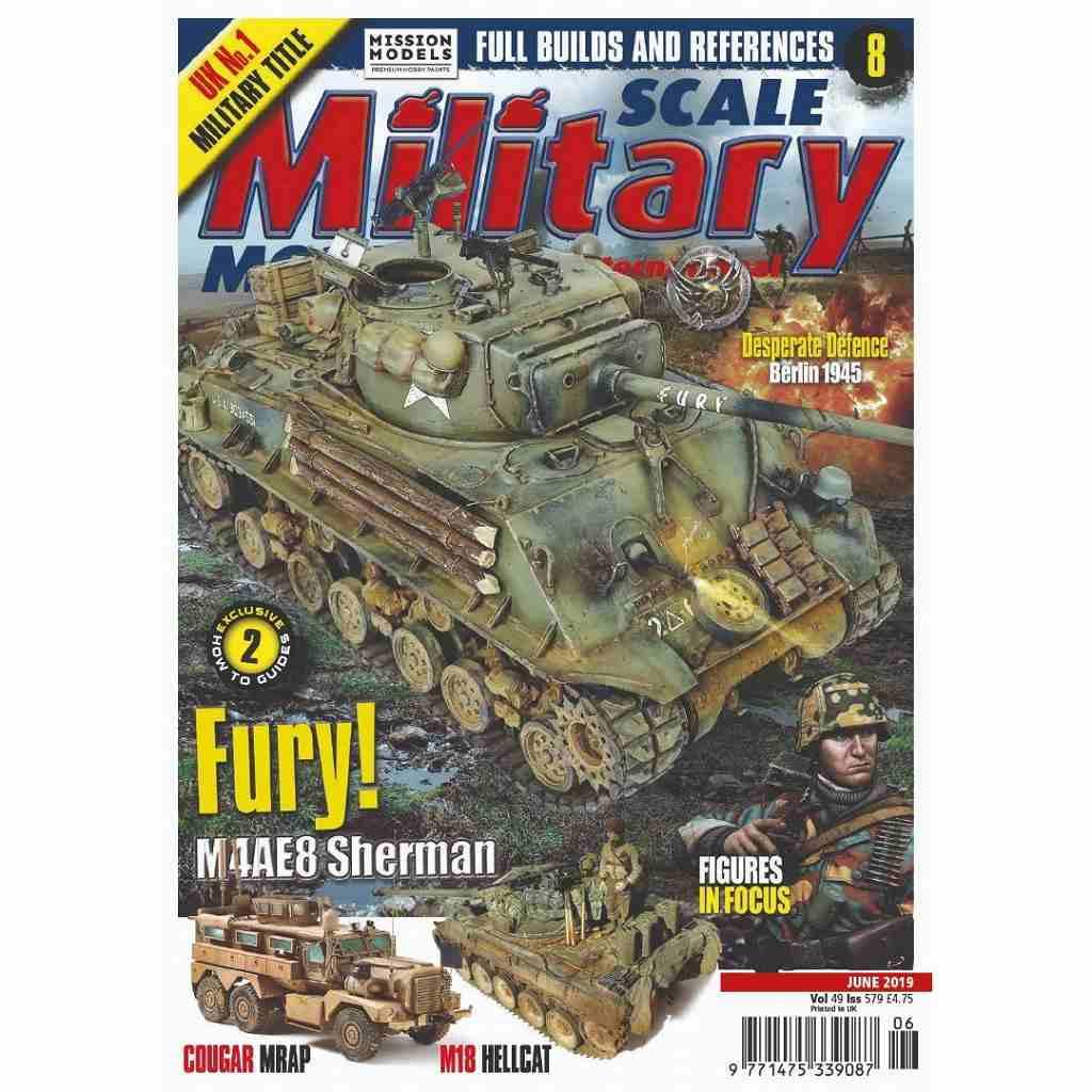 【新製品】スケールミリタリーモデラー579 Fury!