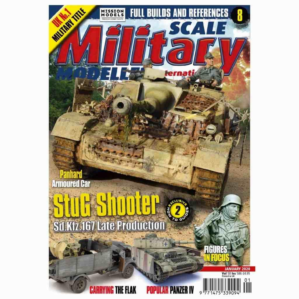 【新製品】スケールミリタリーモデラー586 StuG Shooter