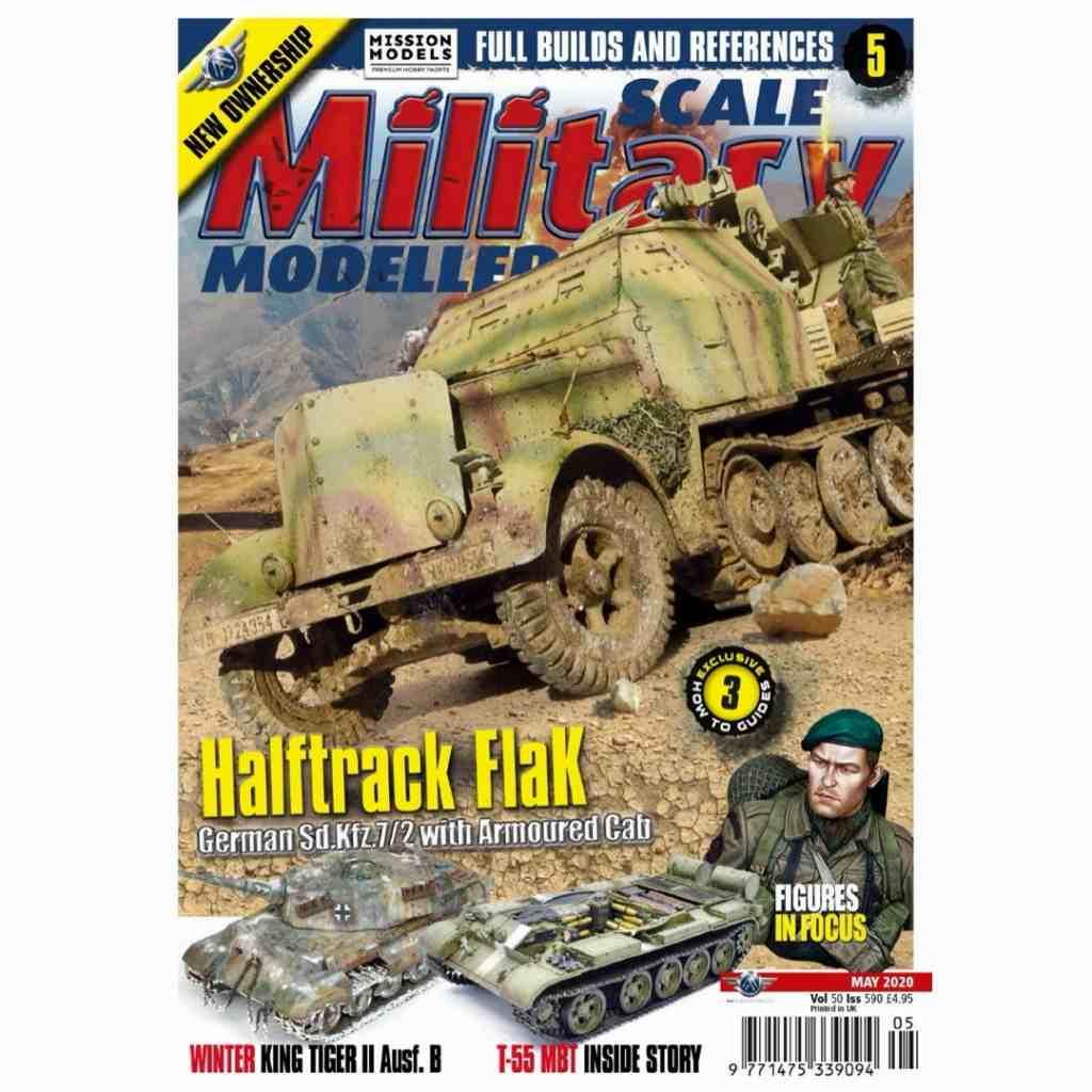 【新製品】スケールミリタリーモデラー590 Halftrack Flak