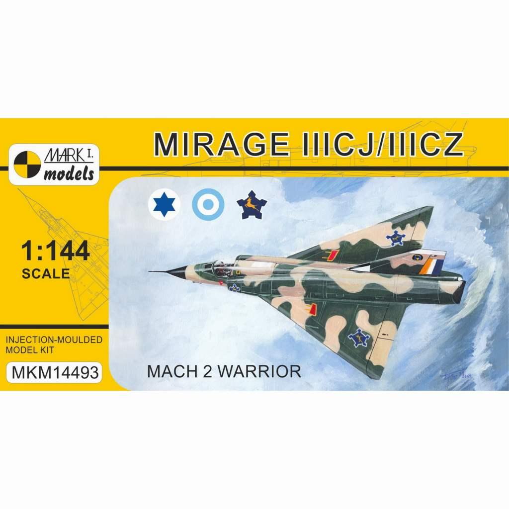 【新製品】MKM14493 ミラージュIIICJ/CZ 「マッハ2ウォーリア」
