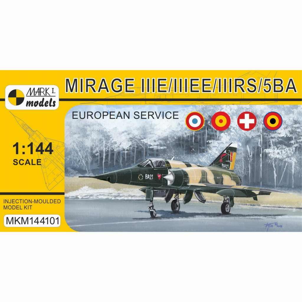【新製品】MKM144101 ミラージュE/EE/RS/5BA 「ヨーロッパ諸国のミラージュ」