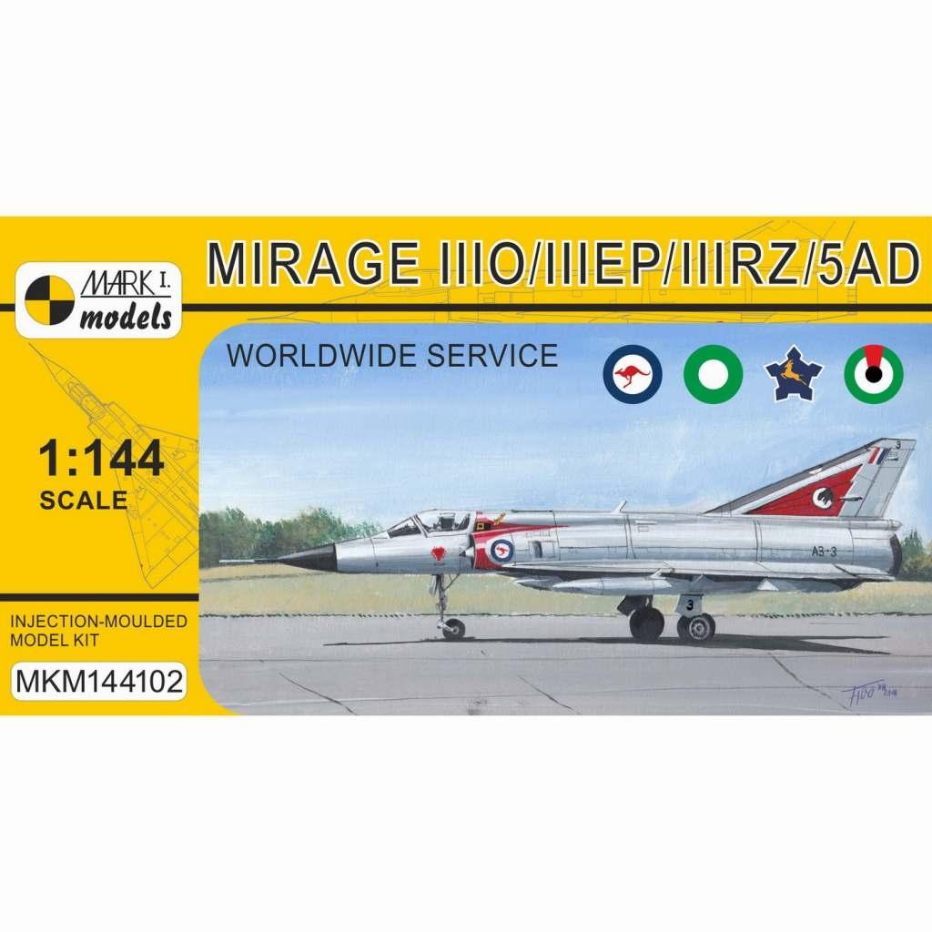 【新製品】MKM144102 ミラージュIIIO/EP/RZ/5AD「世界各国のミラージュ」