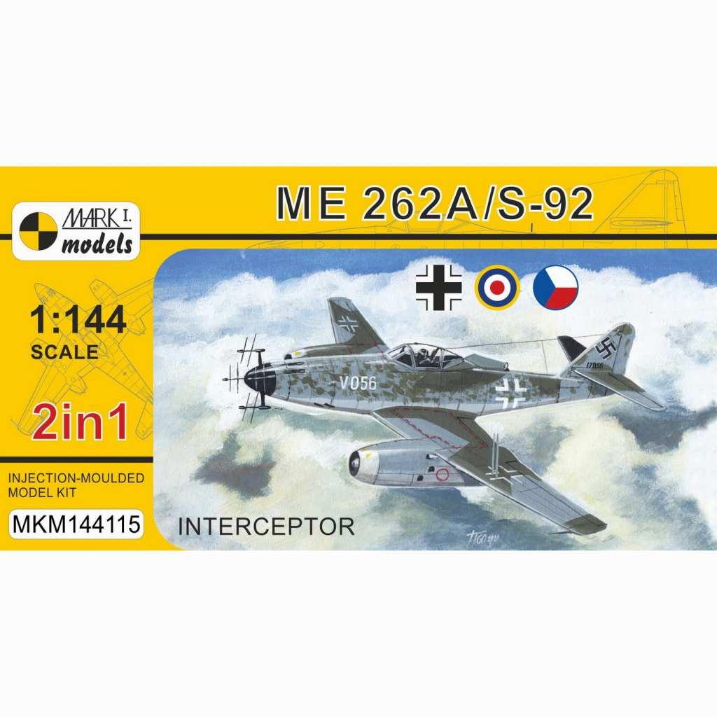 【新製品】MKM144115 Me262A/S-92 「迎撃機」 (2 in 1)