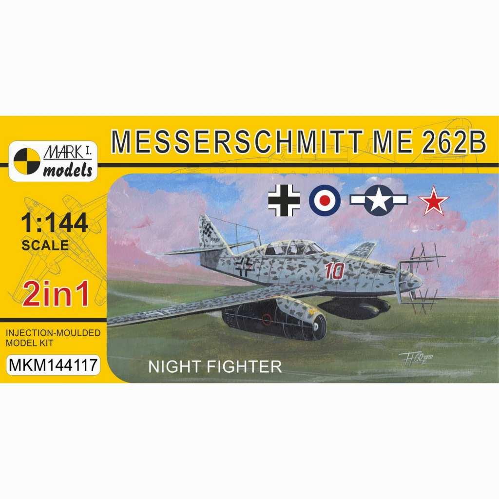 【新製品】MKM144117 Me262B 「夜間戦闘機」 (2 in 1)