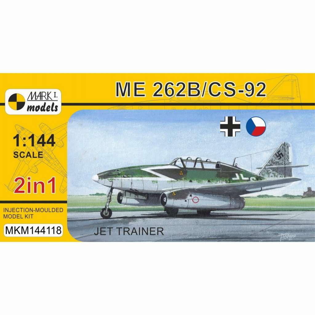 【新製品】MKM144118 Me262B/CS-92 「練習機」(2 in 1)