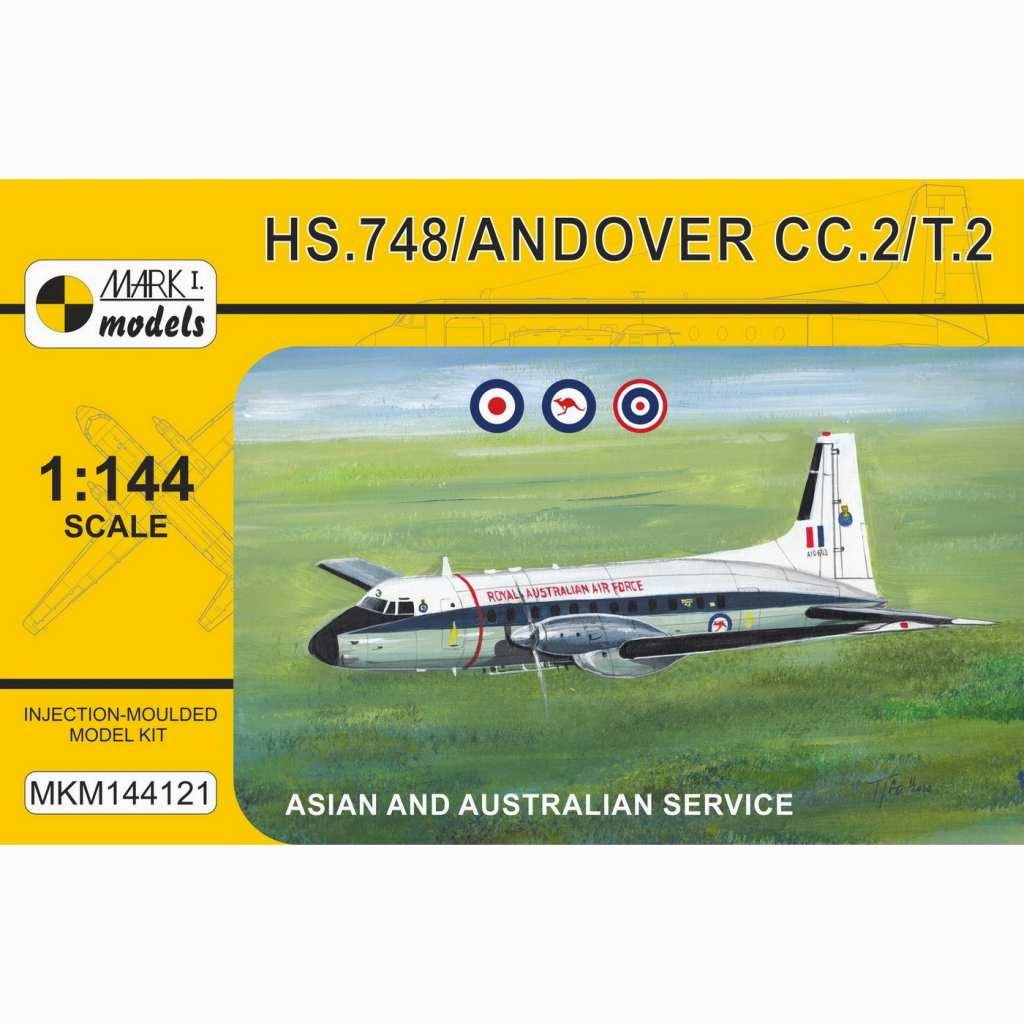 【新製品】MKM144121 アブロ HS.748 アンドーヴァー CC.2 戦術輸送機 「イギリス・タイ・オーストラリア」