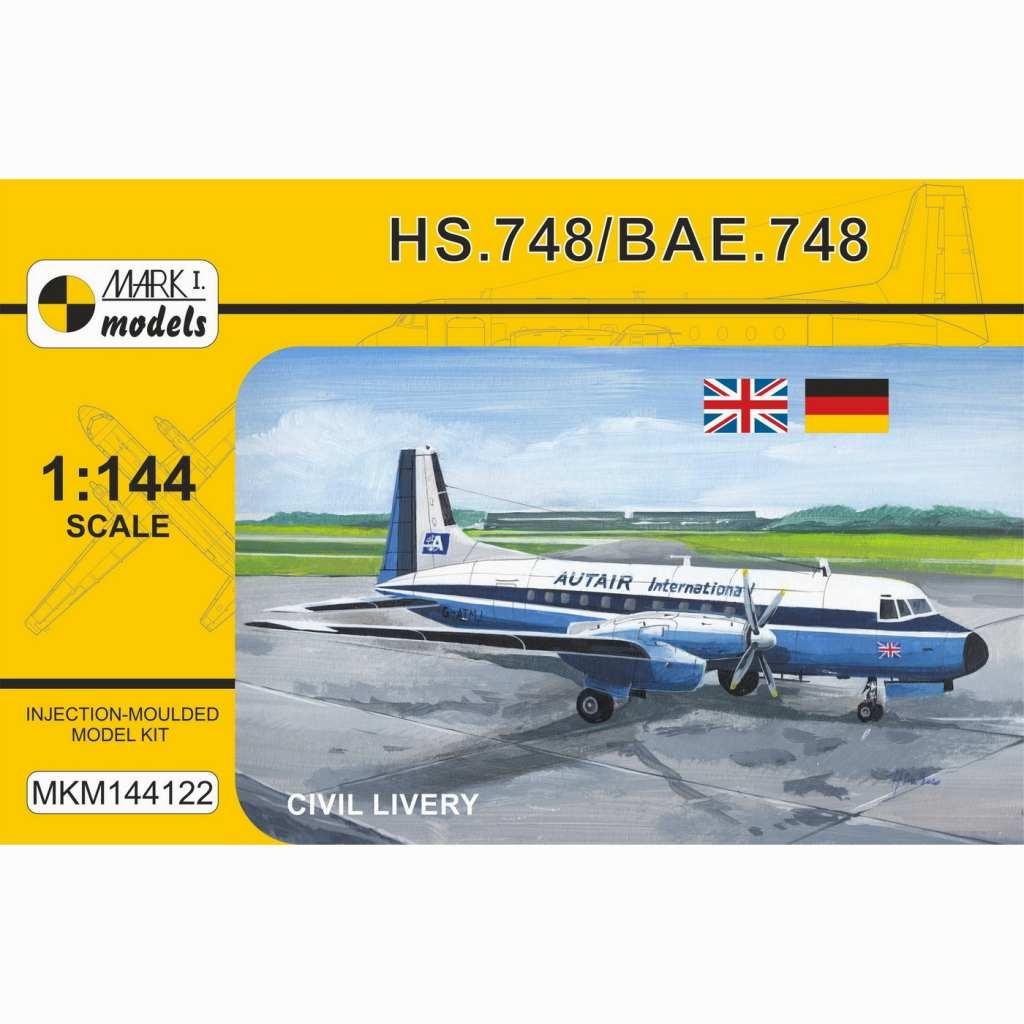 【新製品】MKM144122 アブロ HS.748/BAE.748 「民間機」