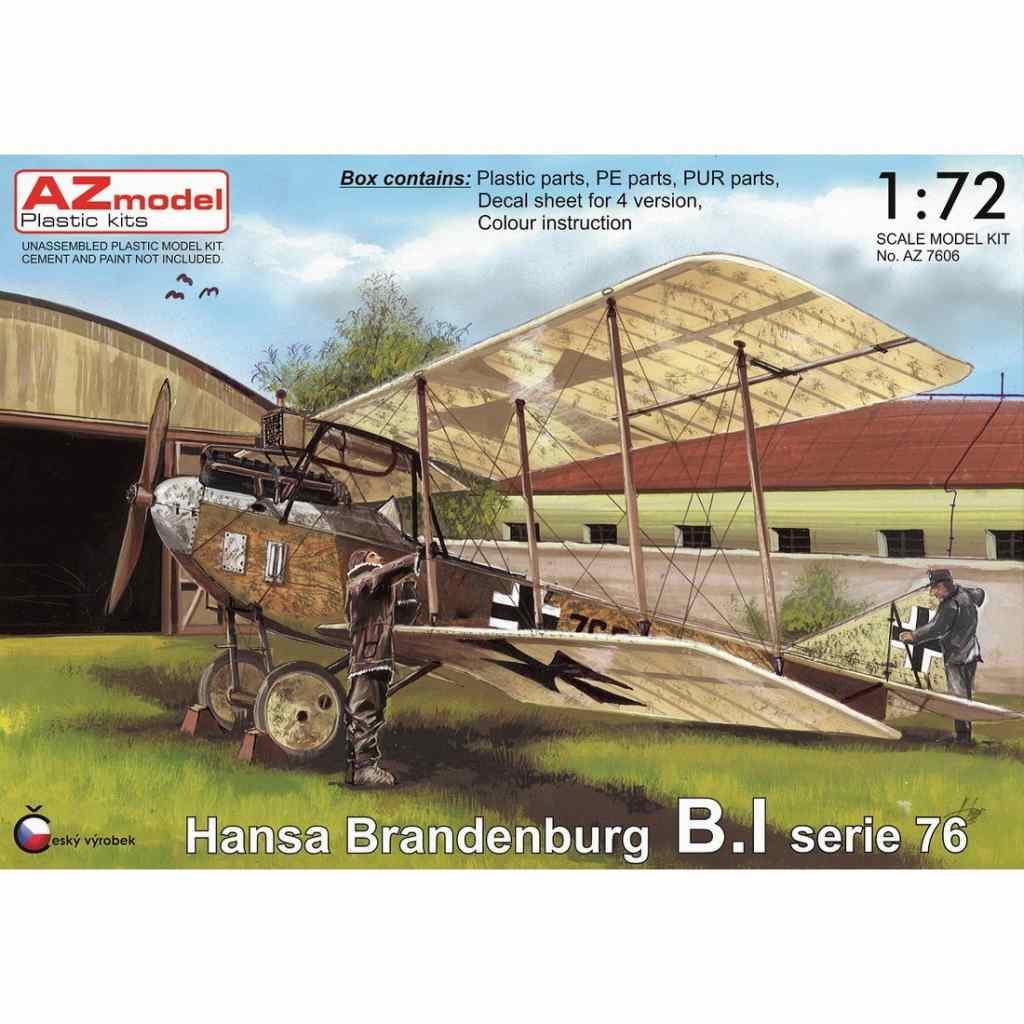 【新製品】AZ7606 ハンザ・ブランデンブルグ B.I セリエ76