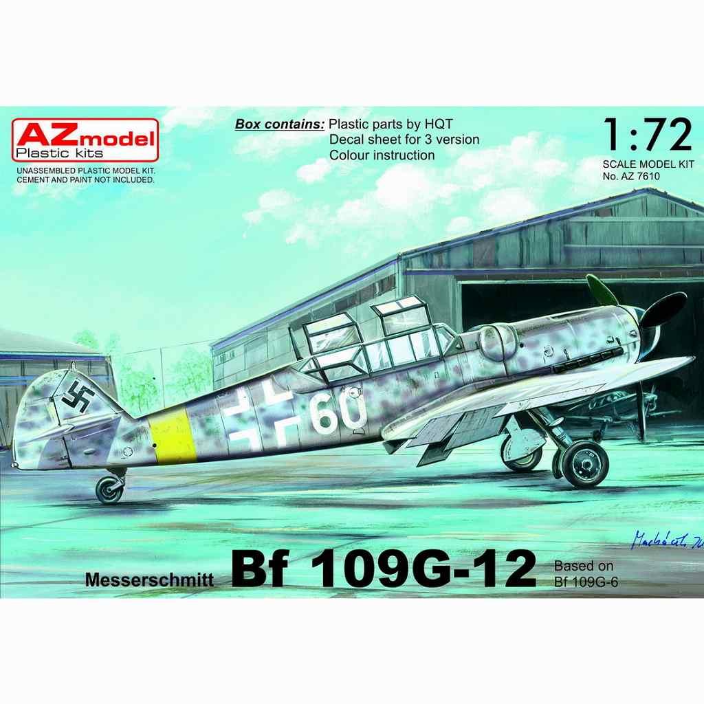 【新製品】AZ7610 メッサーシュミット Bf109G-12(Bf109G-6ベース型)