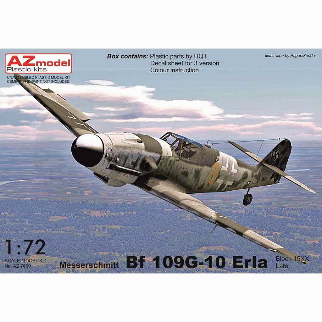 【新製品】AZ7611 メッサーシュミット Bf109G-10 エルラ工場後期型