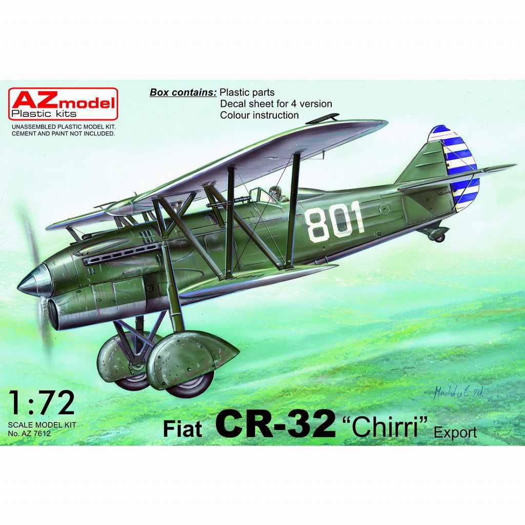 【新製品】AZ7612 フィアット CR.32 「輸出型」