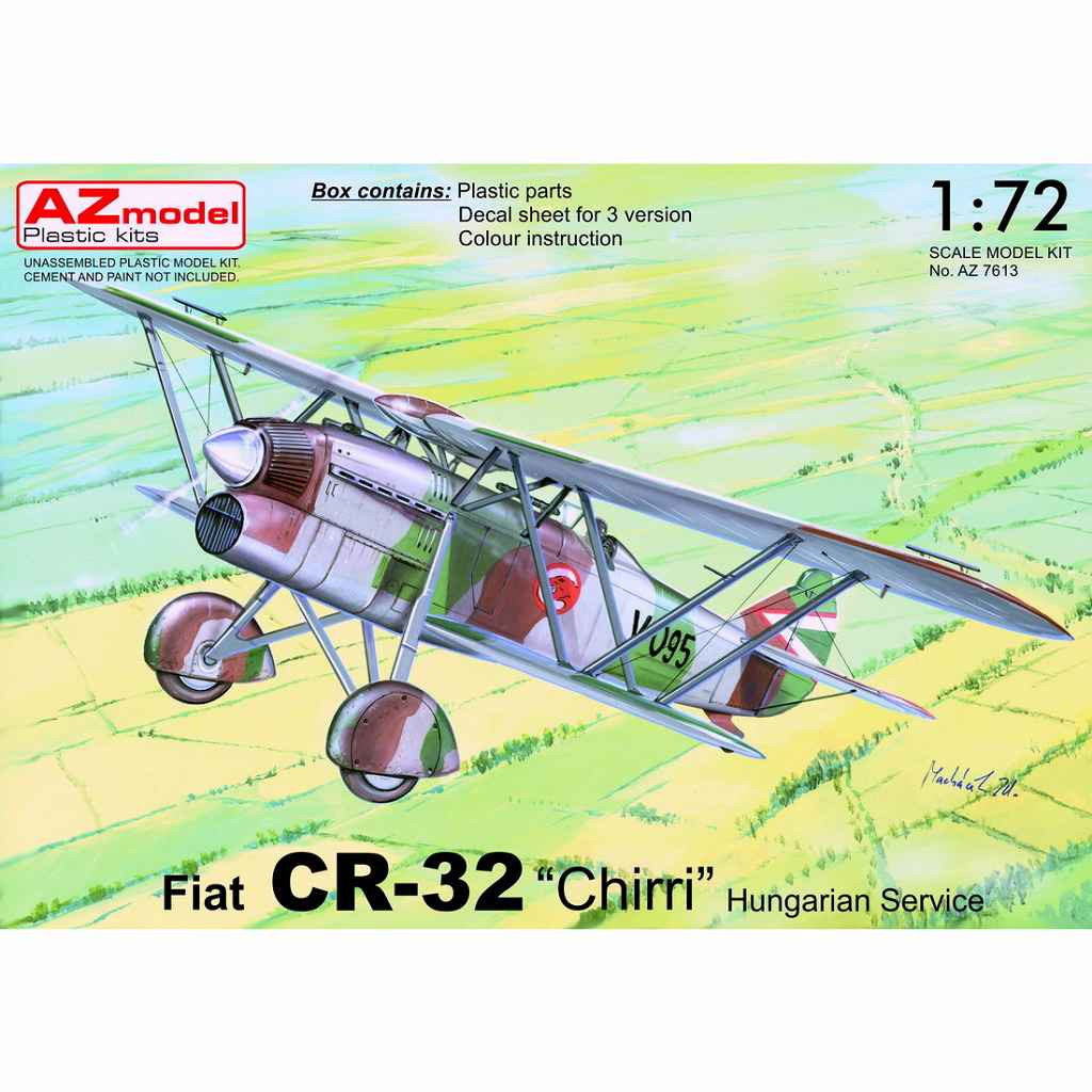 【新製品】AZ7613 フィアット CR.32 「ハンガリー空軍」