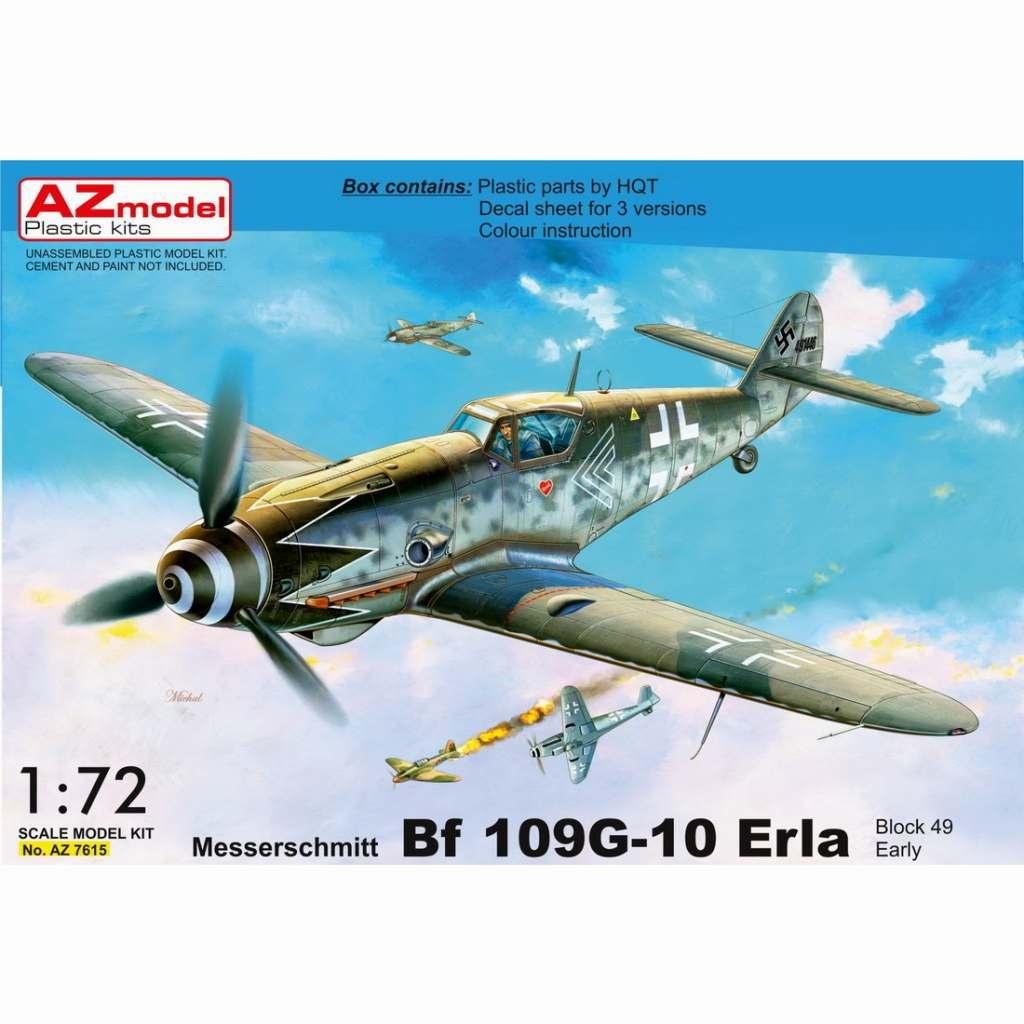 【新製品】AZ7615 メッサーシュミット Bf109G-10 エルラ工場 初期型