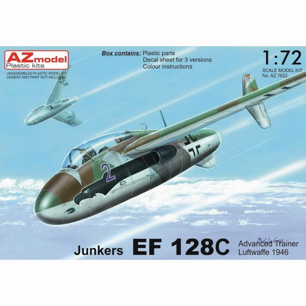 【新製品】AZ7622 ユンカース EF128C 複座高等練習機