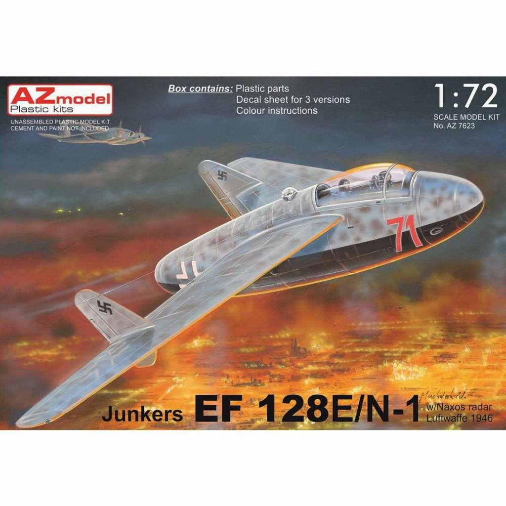 【新製品】AZ7623 ユンカース EF128E/N1 複座夜間戦闘機