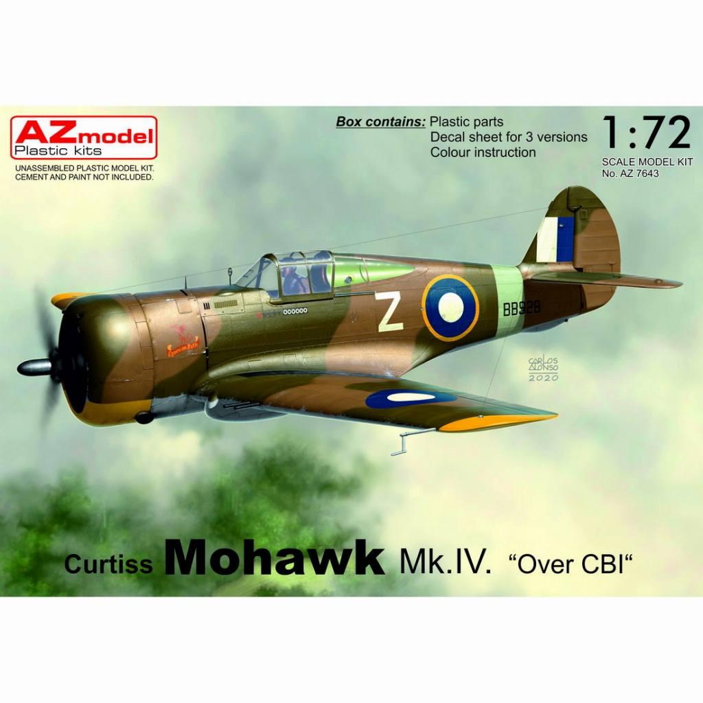 【新製品】AZ7643 カーチス モホーク Mk.IV 「中国/ビルマ/インド戦線」