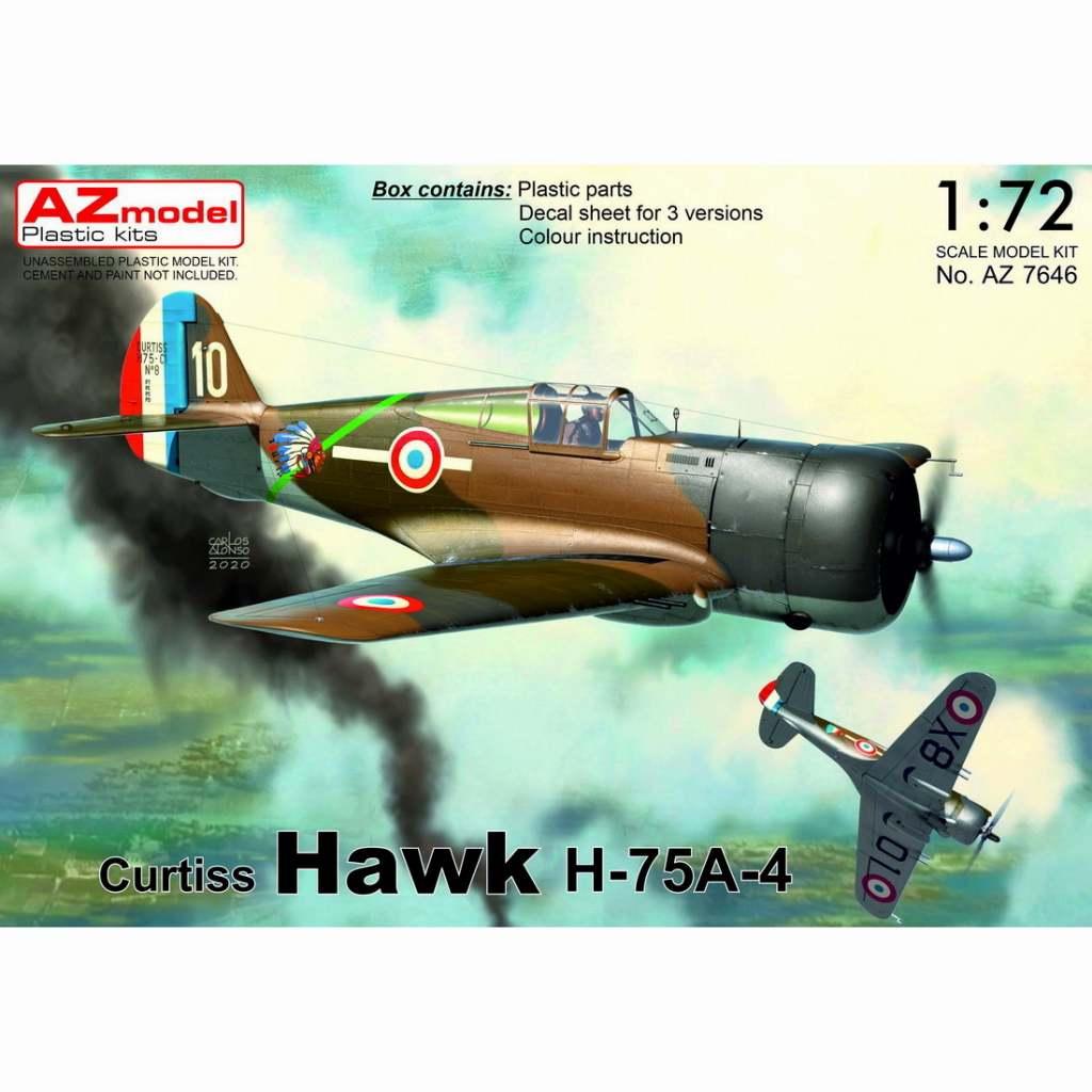 【新製品】AZ7646 カーチス ホーク H-75A-4