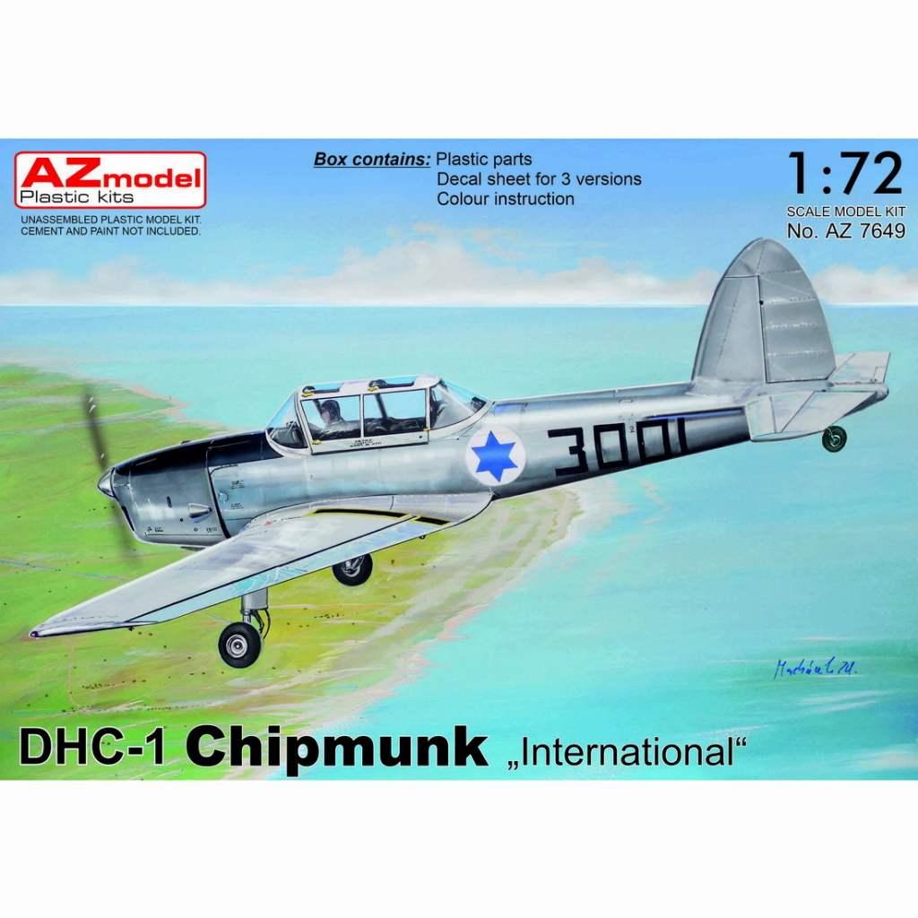 【新製品】AZ7649 デ・ハビランド DHC-1 チップマンク 「海外仕様」